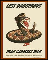 CARELESS TALK WWII T-SHIRTS