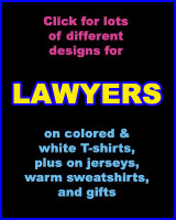 LAWYER T-SHIRTS