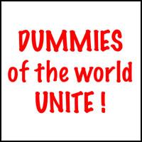 DUMMIES UNITE T-SHIRTS & GIFTS