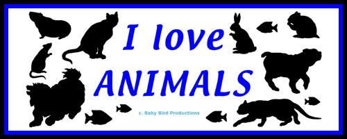 I LOVE ANIMALS T-SHIRTS & GIFTS