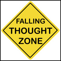 FALLING THOUGHT ZONE T-SHIRTS & GIFTS