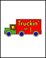 1st BIRTHDAY T-SHIRTS TRUCK
