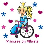 Princess on Wheels (Blonde)