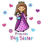 Princess Big Sister (Brown Hair)