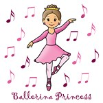 Ballerina Princess (Brown Hair)