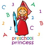 Preschool Princess (Red Hair)