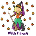 Witch Princess (Blonde Skin)