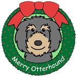 Otterhound Christmas Ornaments