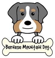 Personalized Bernese Mountain Dog