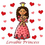 Lovable Princess (Dark Skin)