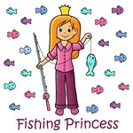 Fishing Princess (Red Hair)