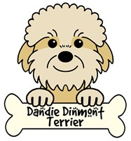 Personalized Dandie Dinmont Terrier