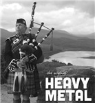 Heavy Metal Bagpipes Shirts