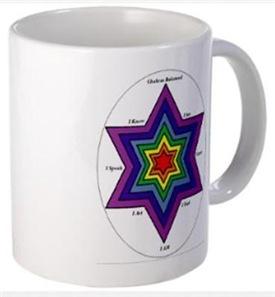 Drinkware - Chakra Balancing Star of David