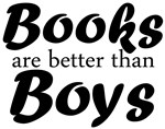 Books are better than Boys