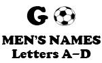Soccer (Go Men Letter A-D)