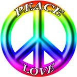 Rainbow Peace & Love
