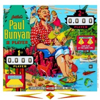 Gottlieb® Paul Bunyan