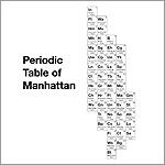 Periodic Table of Manhattan