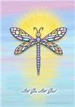Let Go Let God - Dragonfly Pastel