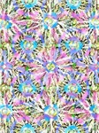 Abstract Pastel Flower Bursts