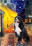 TERRACE CAFE<br>& Bernese Mountain Dog