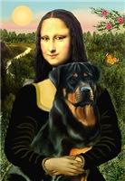 MONA LISA<br>& Rottweiler
