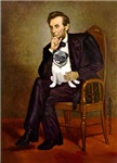 ABRAHAM LINCOLN<br>& Fawn Pug