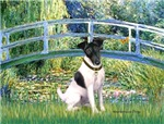 LILY POND BRIDGE<br>& Smooth Fox Terrier
