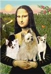 MONA LISA<br> & 3 Chihuahuas
