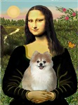 MONA LISA<br> & Pomeranian (red)