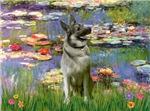 WATER LILIES<br>& Norwegian Elkhound