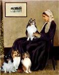 WHISTLER'S MOTHER<br> 4 Shetland Sheepdogs
