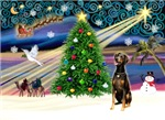 CHRISTMAS MAGIC<br>& Doberman