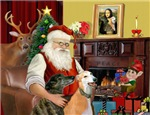SANTA AT HOME<br>& Greyhound