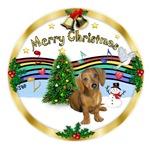 CHRISTMAS MUSIC 1MC<br>& Dachshund