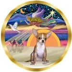 CHRISTMAS STAR<br>& Chihuahua