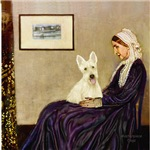 WHISTLERS MOTHER<br>& Scottish Terrier