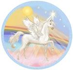 White Arabian Horse in<br>in