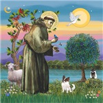 St. Francis and<br>his Long Haired Chihuahua