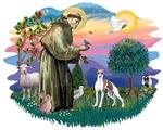 St. Francis #2 &<br>Italian Greyhound