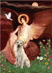SEATED ANGEL<br>Yellow Labrador