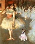BALLET CLASS (Degas)<br>Jack Russell #11 in Tutu