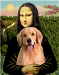 MONA LISA<br>& Golden Retriever #8