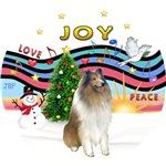CHRISTMAS MUSIC #1<br>Sable/White Collie