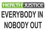 Health Justice Stickers T-shirts