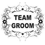 Ornate Frame Team Groom Favors, Shirts, Sweats