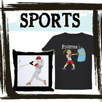 Sports T-shirts, Apparel & Gifts