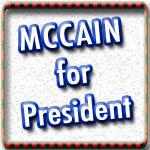 John McCain T-shirts, Buttons, Stickers, Bags