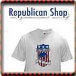Republican T-shirts, Buttons & Gear